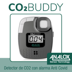 analizador CO2 Buddy