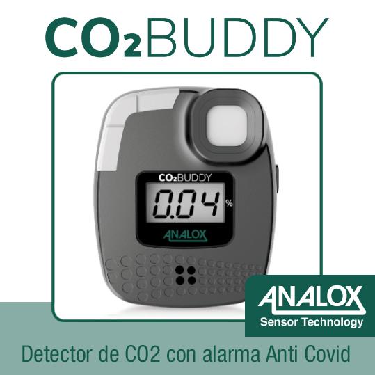 analizador CO2 Buddy